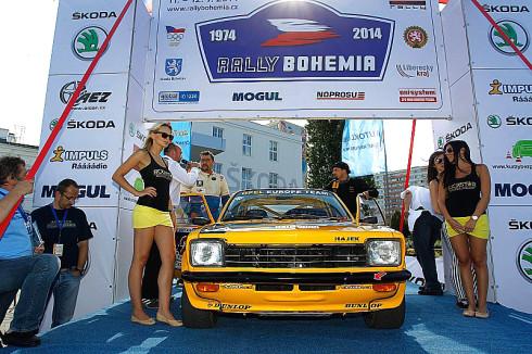 Autoperiskop.cz  – Výjimečný pohled na auta - Hájek Rally Team bavil diváky na Rally Bohemia