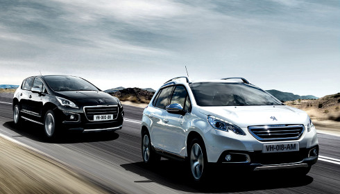 Autoperiskop.cz  – Výjimečný pohled na auta - Značka Peugeot oslavuje obchodní úspěch svých modelů Peugeot 2008 a 3008 uvedením speciálních sérií Crossway