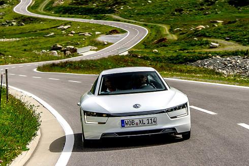 Doppelsieg fuer Volkswagen auf der Silvretta E-Auto Rallye