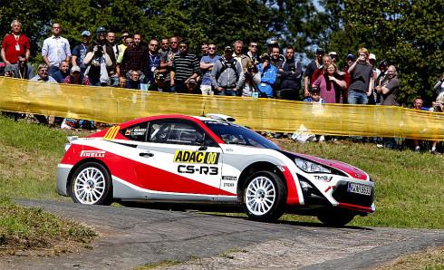 Autoperiskop.cz  – Výjimečný pohled na auta - Společnost TOYOTA Motorsport GmbH (TMG) úspěšně zakončila čtyři testovací dny s prototypem GT86 CS-R3 na Deutschland Rallye