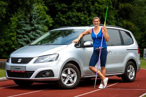 Autoperiskop.cz  – Výjimečný pohled na auta - SEAT slaví s českými atlety jejich úspěchy z mistrovství Evropy v Curychu, které skončilo v neděli 17. srpna