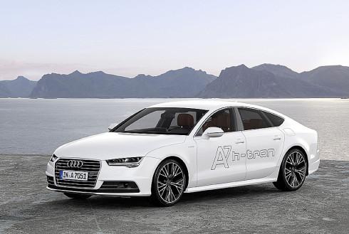 Autoperiskop.cz  – Výjimečný pohled na auta - Nový prototyp Audi A7 Sportback h-tron quattro s palivovými články připraven na reálný provoz