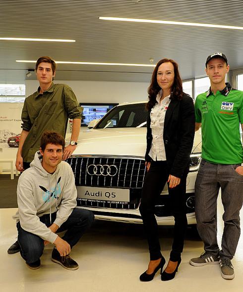 Autoperiskop.cz  – Výjimečný pohled na auta - Partnerství Audi a Svazu lyžařů České republiky