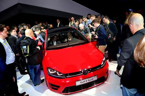 Volkswagen Pressekonferenz am 05012015 Las Vegas CES 2015