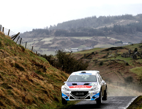 AUTO - ERC IRELAND RALLY 2015