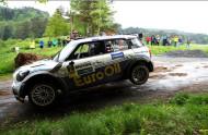 Autoperiskop.cz  – Výjimečný pohled na auta - Pech s vozem MINI John Cooper Works S2000 1,6 turbo před dnešním odpoledním startem Rallye Hustopeče 19.června