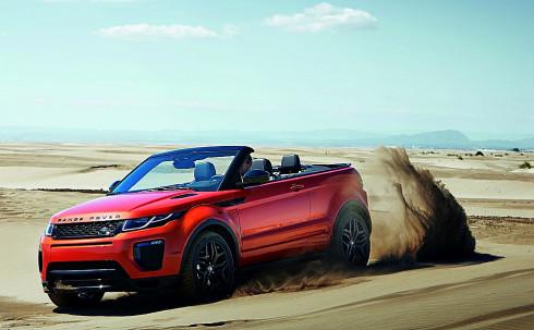 Autoperiskop.cz  – Výjimečný pohled na auta - Značka Land Rover představila svůj první luxusní kompaktní SUV kabriolet do každého počasí