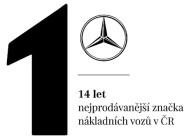 Autoperiskop.cz  – Výjimečný pohled na auta - Nákladní vozy Mercedes-Benz si již 14 let v řadě drží pozici lídra na českém trhu