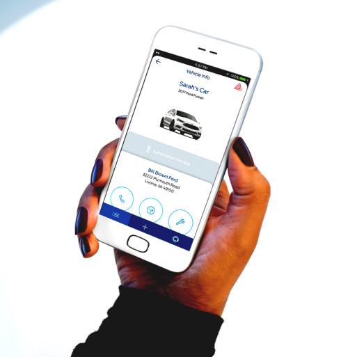 FordPass dealer communication