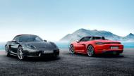 Autoperiskop.cz  – Výjimečný pohled na auta - Nový roadster se čtyřválcovými motory uprostřed: Porsche 718 Boxster: O 35 koní vyšší výkon – o 13 procent menší spotřeba paliva