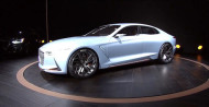 """Autoperiskop.cz  – Výjimečný pohled na auta - GENESIS odhalil na mezinárodním autosalonu v New Yorku pozoruhodný luxusní sportovní sedan """"New York Concept"""""""