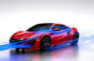 """Autoperiskop.cz  – Výjimečný pohled na auta - Specialista společnosti Honda na aerodynamiku Thomas Ramsey poodhaluje koncept """"komplexního řešení celkové aerodynamiky"""" využitý u modelu NSX"""