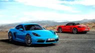 Autoperiskop.cz  – Výjimečný pohled na auta - Sportovní kupé Porsche 718 Cayman a Porsche 718 Cayman S s motorem uprostřed doplňuje řadu 718 jako vstupní model