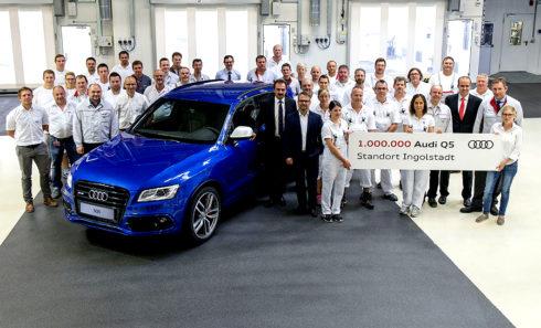 Autoperiskop.cz  – Výjimečný pohled na auta - Ve čtvrtek 4. srpna 2016 sjel z montážní linky miliontý vůz Audi Q5, vyrobený v hlavním závodě Audi v Ingolstadtu