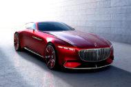 Autoperiskop.cz  – Výjimečný pohled na auta - Vrcholný luxus: Vision Mercedes-Maybach 6 – studie extravagantního kupé luxusní třídy