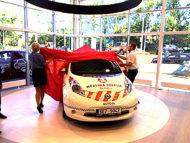 Autoperiskop.cz  – Výjimečný pohled na auta - Elektromobily Nissan ve službách města Pardubic