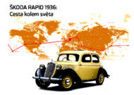 Autoperiskop.cz  – Výjimečný pohled na auta - Před 80 lety kolem světa: Velkolepá jízda modelu ŠKODA RAPID – za 44 dní ujel tým Procházka a Kubias 27 700 km 15 státy 3 kontinentů