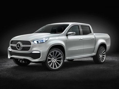 Autoperiskop.cz  – Výjimečný pohled na auta - Mercedes-Benz Vans představil ve Stockholmu studií Concept X-CLASS, zcela nový pick-up, prezentovaný jako třída X