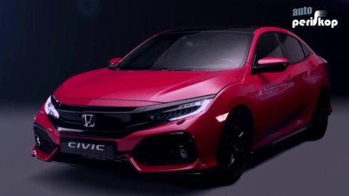 Autoperiskop.cz  – Výjimečný pohled na auta - Honda Civic – Autosalon Paříž 2016
