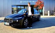 Autoperiskop.cz  – Výjimečný pohled na auta - Jaroslav Kulhavý zůstává ambasadorem Maserati, model Ghibli mění za Levante
