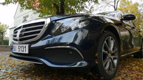 Autoperiskop.cz  – Výjimečný pohled na auta - Mercedes-Benz E 220d – redakční test