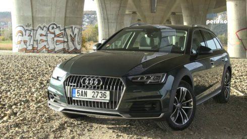 Autoperiskop.cz  – Výjimečný pohled na auta - TEST: Audi A4 Allroad 3.0 TDi