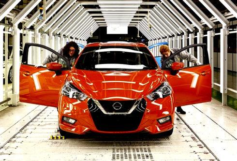 Autoperiskop.cz  – Výjimečný pohled na auta - Výroba zcela nového Nissanu Micra již páté generace začala:  prodej v České republice začne již v dubnu 2017