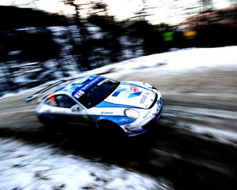 Autoperiskop.cz  – Výjimečný pohled na auta - Romain Dumas získal s vozem Porsche 911 GT3 RS vítězství ve své třídě v Rallye Monte Carlo