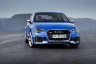 Autoperiskop.cz  – Výjimečný pohled na auta - Modernizované  Audi RS 3 Sportback s motorem o výkonu 294 kW ve  světové premiéře na březnovém Ženevském autosalonu