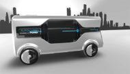 """Autoperiskop.cz  – Výjimečný pohled na auta - Ford vytvořil koncepci automatizovaného doručování zásilek pro udržitelné """"Město zítřka"""""""