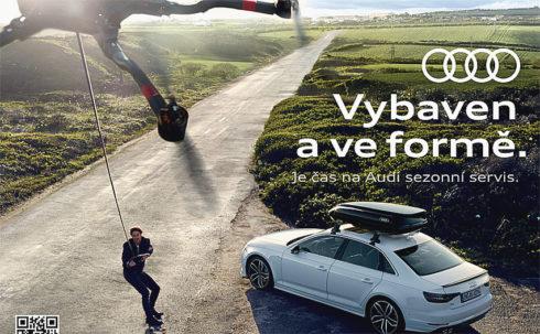Autoperiskop.cz  – Výjimečný pohled na auta - Značka Audi zve majitele zánovních i starších vozů do autorizovaných servisů Audi, aby byl jejich vůz připraven pro nadcházající  sezonu