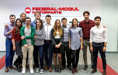 Federal-Mogul Motorparts nabízí absolventům úspěšnou kariéru na základě kampaně European Graduate Recruitment 2017