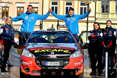 Autoperiskop.cz  – Výjimečný pohled na auta - Valašská rally Valmez hostila premiérový závod Peugeot Total Rally Cupu 2017