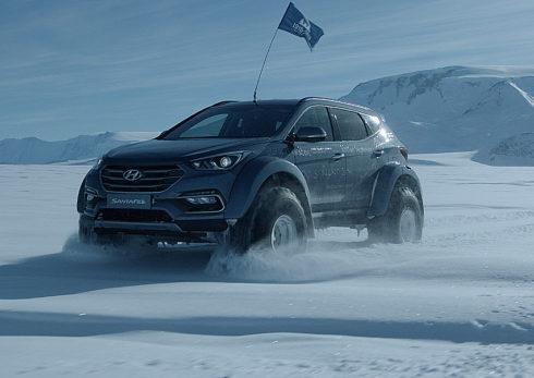 Autoperiskop.cz  – Výjimečný pohled na auta - Hyundai na Antarktidě ve stopách Sira Shackletona