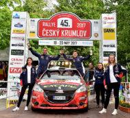 Autoperiskop.cz  – Výjimečný pohled na auta - Peugeoty 208 R2 na Rallye Český Krumlov