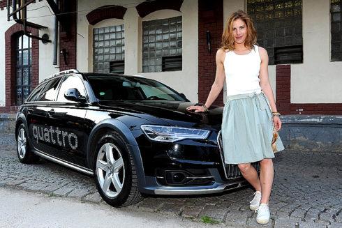 Autoperiskop.cz  – Výjimečný pohled na auta - Hvězda Audi Ski Teamu Ester Ledecká je i letos Královnou bílé stopy