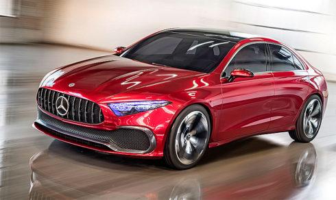 Autoperiskop.cz  – Výjimečný pohled na auta - Předzvěst nové generace: Mercedes-Benz Concept A Sedan představen na autosalonu Auto Shanghai