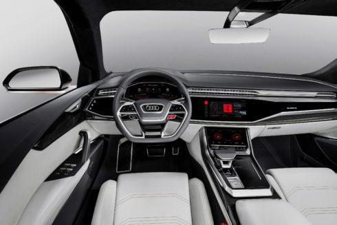 Autoperiskop.cz  – Výjimečný pohled na auta - Audi představuje studii Audi Q8 sport concept s integrovaným operačním systémem Android