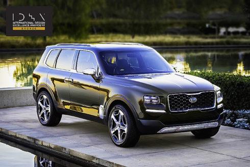 Autoperiskop.cz  – Výjimečný pohled na auta - Kia Telluride – koncept velkého SUV od automobilky Kia Motors – obdržel prestižní ocenění za design od Americké společnosti průmyslových návrhářů (IDSA)