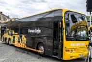 """Autoperiskop.cz  – Výjimečný pohled na auta - Napříč Finskem projel """"parní"""" autobus Scania"""