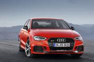 Autoperiskop.cz  – Výjimečný pohled na auta - Audi uvádí na český trh dva nové modely RS: kompaktní TT RS a RS 3 uchvátí ohromujícím zvukem a nespoutanou sílou přeplňovaného pětiválce
