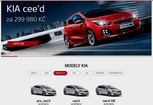 Autoperiskop.cz  – Výjimečný pohled na auta - KIA je mezi TOP 3 automobilkami s nejnavštěvovanějším webem v České republice