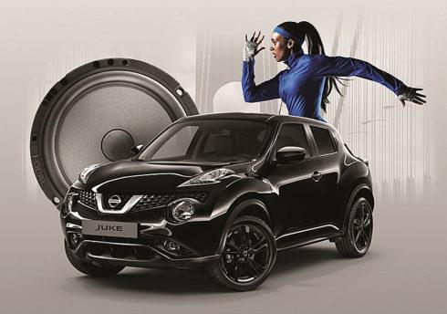 """Autoperiskop.cz  – Výjimečný pohled na auta - Nissan uvádí limitovanou edici kompaktního crossoveru Juke Dark Sound pro dokonalé audio zážitky a navíc je standardně vybaven personalizací exteriéru v černé barvě a výraznými 18"""" hliníkovými koly s černými segmenty . . ."""