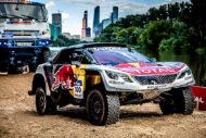 Autoperiskop.cz  – Výjimečný pohled na auta - Silk Way Rally je v plném proudu a Peugeot obsadil včera  v pátek 8.července první tři místa: Loeb, Peterhansel a Despres v zahajovací 1. etapě obsadili první, druhé a třetí místo