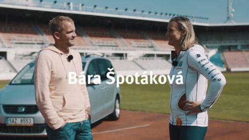 Autoperiskop.cz  – Výjimečný pohled na auta - Česká oštěpařka Bára Špotáková je již mnoho let sympatickou, usměvavou tváří značky SEAT a tato úspěšná spolupráce pokračuje i v letošní sezoně