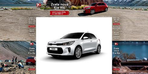 Autoperiskop.cz  – Výjimečný pohled na auta - Společnost KIA MOTORS CZECH spouští novou marketingovou kampaň na podporu nové generace modelu Kia Rio