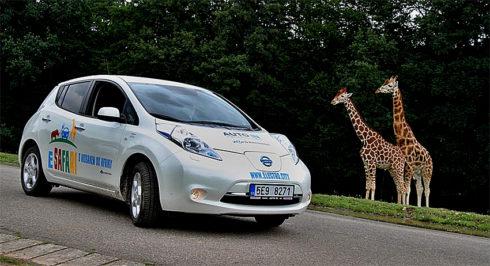 Autoperiskop.cz  – Výjimečný pohled na auta - O tomto víkendu 26. a 27. srpna proběhne v ZOO Dvůr Králové další akce v rámci projektu E-safari na podporu e-mobility s názvem S Nissanem do Afriky