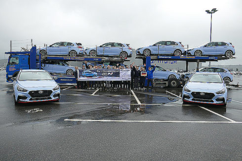 Autoperiskop.cz  – Výjimečný pohled na auta - Expedice prvních vozů Hyundai i30 N ze závodu Hyundai Motor Manufacturing Czech