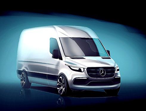 Autoperiskop.cz  – Výjimečný pohled na auta - Mercedes-Benz Vans odhaluje první detaily o novém modelu Sprinter