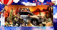 Autoperiskop.cz  – Výjimečný pohled na auta - NOVÉ KOMPAKTNÍ SUV CITROËN C3 AIRCROSS OSLAVUJE KOUZLO VÁNOC V OBCHODNÍM DOMĚ PRINTEMPS NA BULVÁRU HAUSSMANN